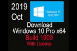 Windows 10 Pro VL X64 1909 OEM ESD en-US JAN 2020 {Gen2}